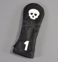 "Rose&Fire ""Skull"" Premium USA Leather Driver Headcovers"