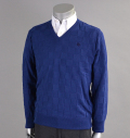SubSeventy AS10056 Square Sweater Navy
