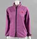 Fairy Powder FP16-6105 Women's Double Zip Hood Jacket Purple