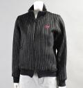 Fairy Powder FP16-6103 Women's Double Zip Jacket Black