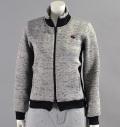 Fairy Powder FP16-6103 Women's Double Zip Jacket Gray