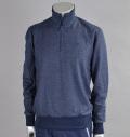 Tranvi TRKTB-01 Half Zip Sweater Navy