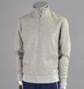 Tranvi TRKTB-01 Half Zip Sweater Gray