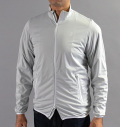 Tranvi TRJKB-01 Full Zip Stretch Wind Jacket Gray