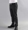 Tranvi TRPTB-05 Stripe Stretch Pants Black