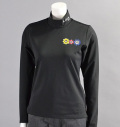 ILicca Golf IG16-6101 Super Stretch Pullover many many happy Black