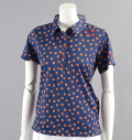 ILicca Golf IG17-2100  Print Polo Navy