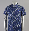 2017 Fairy Powder FP17-1106 Print BD Polo Navy