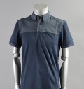 AG Green Label DAVIS POLO NAVALU BLUE