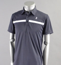 PeakPerformance  G Panmore Stripe Polo Dark Slate Blue