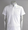 SQAIRZ SQSHB-011 Zip Shirts White