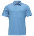 KJUS SOREN STRIPE POLO Light Blue