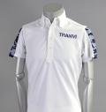 Tranvi TRSHB-006 Camo Sleeve Shirts White/Navy