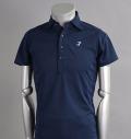 Tranvi TRSHB-018 Wide Collar Shirts Navy