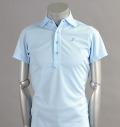 Tranvi TRSHB-018 Wide Collar Shirts Sax
