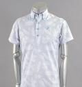 Tranvi TRSHB-017 Aloha Print Shirts Gray