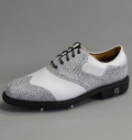 Footjoy Icon Custom 52040 White Smooth/Blue/Black Lizard