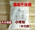 下郷農協の農薬不使用 国産(大分県産)小麦粉(中力粉)