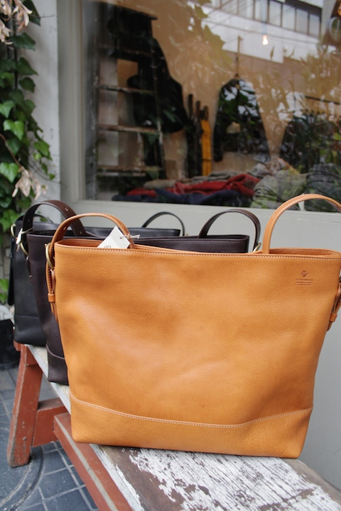 "Teha'amana ""KOMARU"" 2way Leather BAG""UNISEX"""