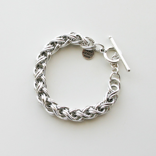 PHILIPPE AUDIBERT/Jacob bracelet brass silver color,