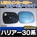 LM-TOLX03A��Harrier/�ϥꥢ��(30��/2003/02�ʹ�)��TOYOTA/�ȥ西 LED�������ɥ��ߥ顼����֥롼�ɥ��ߥ顼���
