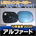 LM-TOLX03B��Alphard/����ե�����(10�ϸ��/2005/04��)��TOYOTA/�ȥ西 LED�������ɥ��ߥ顼����֥롼�ɥ��ߥ顼���
