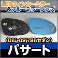 LM-VW08D VW���ե��륯�������Passart/�ѥ�����B6������(3C:2006-2009)��LED�������ɥ��ߥ顼����֥롼�ɥ��ߥ顼���