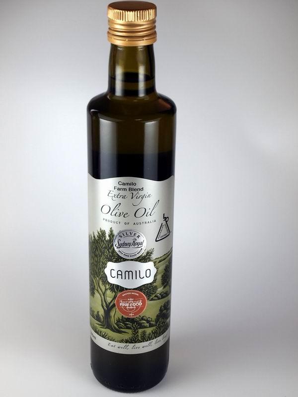 【賞味期限6/30のため70%OFF!】【2015オリーブオイルジャパンコンテスト金賞】当店ソムリエおススメ! カミロ エキストラバージンオリーブオイル ファーム テイスト 500ml/CAMILO Extra Virgin Olive Oil Farm blend