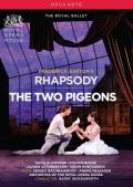 英国ロイヤル・バレエ「ラプソディ/二羽の鳩」(直輸入DVD)