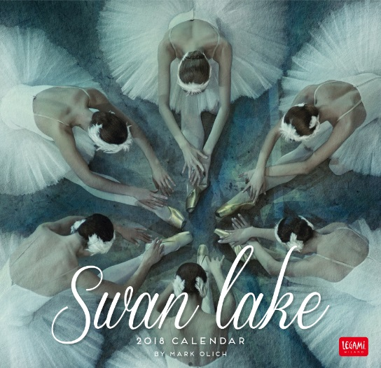直輸入バレエ・カレンダー2018 Mark Olich Wall Calendar 2018 Swan Lake