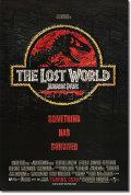 【訳ありポスター グッズ】ロスト・ワールド/ジュラシック ・パーク (ジェフ・ゴールドブラム/The Lost World: Jurassic Park) [REG-両面] [破れ・欠損] [オリジナルポスター]
