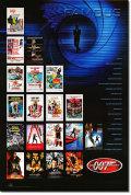 【映画ポスター グッズ】007 シリーズ [40th Anniversary checklist-SS]★40周年記念★ [オリジナルポスター]