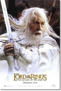 【映画ポスター グッズ】ロードオブザリング 王の帰還 [Gandalf ADV-両面] [オリジナルポスター]