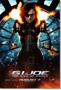 【映画ポスター グッズ】G.I.ジョー (G.I. JOE) [Baroness special ADV-SS] [オリジナルポスター]