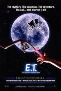 【映画ポスター グッズ】E.T. (スピルバーグ監督作) [20th Anniversary REG-両面] [オリジナルポスター]