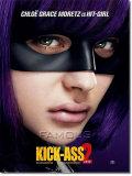【映画ポスター グッズ】キックアス ジャスティス フォーエバー (クロエ・グレース・モレッツ/KICK-ASS 2) /ヒットガール INT-ADV-両面 [オリジナルポスター]