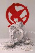 【映画ポスター グッズ】ハンガー・ゲーム FINA:レボリューション (ドナルド・サザーランド/The Hunger Games: Mockingjay-Part2) /statue ADV-SS [オリジナルポスター]