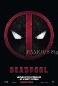 【映画ポスター グッズ】デッドプール (ライアン・レイノルズ/Deadpool) /ADV 両面 [オリジナルポスター]