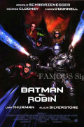【映画ポスター グッズ】バットマン&ロビン Mr.フリーズの逆襲 (アーノルド・シュワルツェネッガー/BATMAN & ROBIN) /INT 片面 [オリジナルポスター]