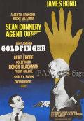 【映画ポスター グッズ】007 ゴールドフィンガー (ジェームズボンド/ショーン・コネリー/Goldfinger) /片面 [オリジナルポスター]