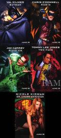 【映画ポスター5枚セット グッズ】バットマン フォーエヴァー (Batman Forever) /片面 [オリジナルポスター]