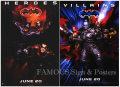 【映画ポスター2枚セット グッズ】バットマン&ロビン Mr.フリーズの逆襲 (BATMAN & ROBIN) /ADV 片面 [オリジナルポスター]