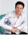 【直筆サイン入り写真】コリン・ファース (キングスマン 等/Colin Firth) [映画グッズ/オートグラフ]