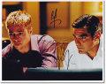 【直筆サイン入り写真】オーシャンズ11 キャスト2名 (ブラッド・ピット/ジョージ・クルーニー) [映画グッズ/オートグラフ]