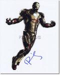 【直筆サイン入り写真】ロバート・ダウニー・Jr (アイアンマン3/Robert Downey Jr./アイアンマン役) [映画グッズ/オートグラフ]