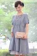 レンタルドレス マタニティ Catherine-Blue