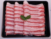 【福島のうまい肉ネット販売!】国産豚肉うす切り(バラ)100g(冷凍)〜こだわり肉屋「桜八」〜16