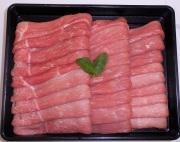 【福島のうまい肉ネット販売!】国産豚肉うす切り(もも)100g(冷凍)〜こだわり肉屋「桜八」〜18