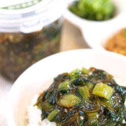 野沢菜昆布(しょう油味)プレーンタイプ