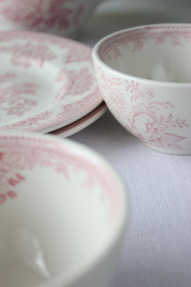 burleigh(バーレイ) |ピンク アジアティック フェザンツ シュガーボウル Sサイズ